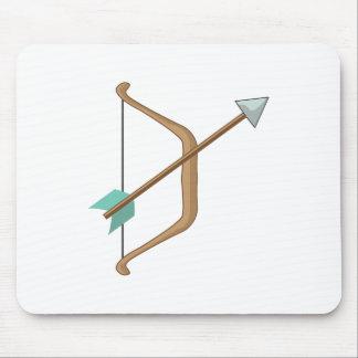 Bow & Arrow Mouse Pad