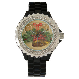 Bow Bell Holly Vintage Christmas Watch
