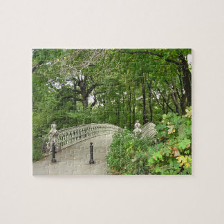 Bow Bridge Central Park Jigsaw Puzzle