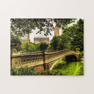 Bow Bridge, Central Park, NYC Puzzle
