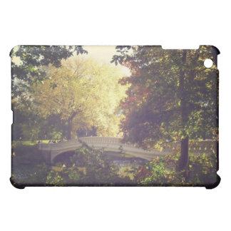 Bow Bridge Framed By Trees,Central Park, NYC iPad Mini Cover