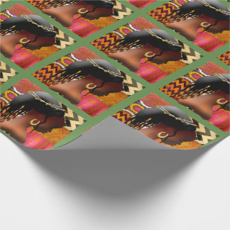 Bow In Prayer Wrapping Paper