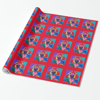 Bow Knows Holiday Wrapping Paper by Ron Burns