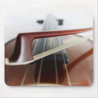 Bow on Violin Mouse Pad