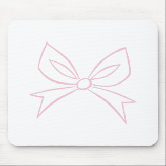 Bow Outline Mousepad