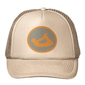 Bow Pose Yoga Gift Trucker Hat