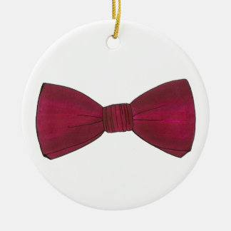 Bow Tie Bachelor Party Groom Wedding Ornament