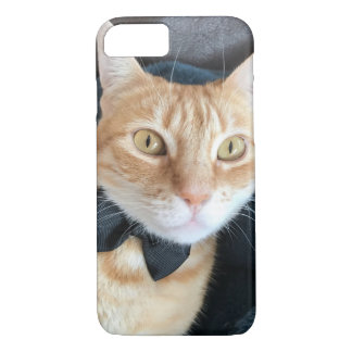 Bow tie cat iPhone 8/7 case