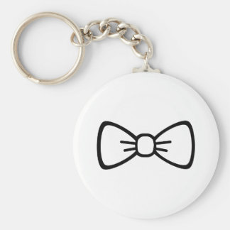 Bow tie key ring