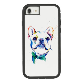 Bow-Tie Rainbow Frenchie Case-Mate Tough Extreme iPhone 8/7 Case