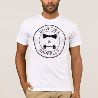 Bow Ties and Barbells T-Shirt