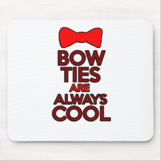 Bow ties are always cool mouse pads