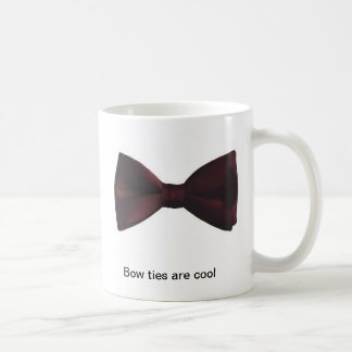 """Bow ties are cool"" coffee mug"