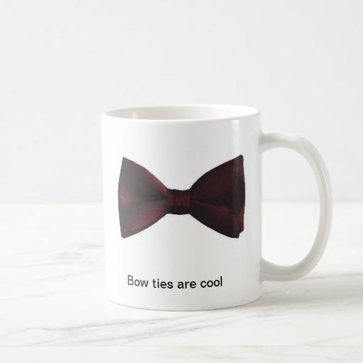 """Bow ties are cool"" coffee mug"