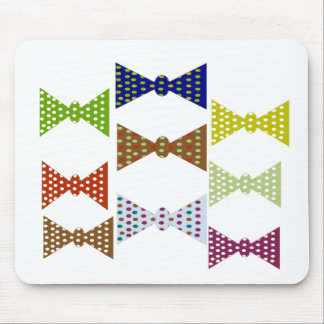 Bow Ties Mouse Pad