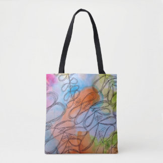 Bow Vine Leaves Tote Bag