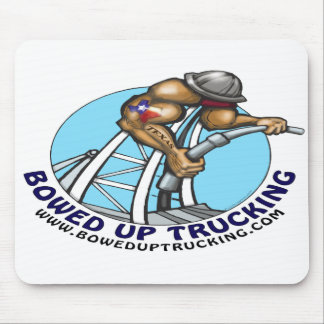 Bowed Up Trucking Mouse Pad