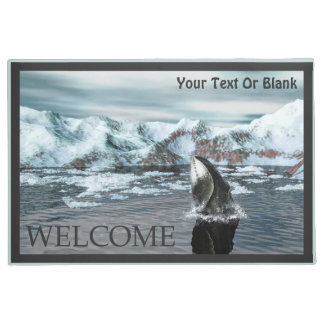 Bowhead Whale  - Welcome Doormat