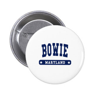 Bowie Maryland College Style t shirts 6 Cm Round Badge
