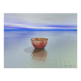 Bowl and Water Poster