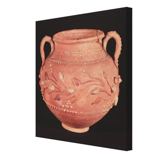 Bowl found at Coptos, Upper Egypt Canvas Prints