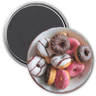 Bowl full of Donuts Fun Food Magnet
