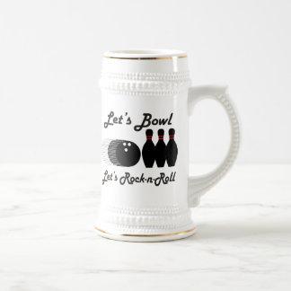 Bowl Let's Rock-n-Roll Beer Steins