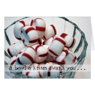 Bowl o' Kisses card