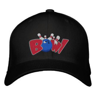 Bowl-o-rama Embroidered Hat