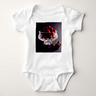 Bowl of Cherries Abstract Baby Bodysuit