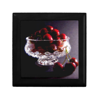 Bowl of Cherries Abstract Gift Box