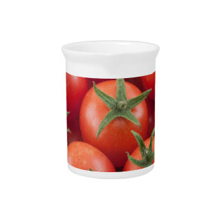 Bowl Of Cherry Tomatoes Pitcher