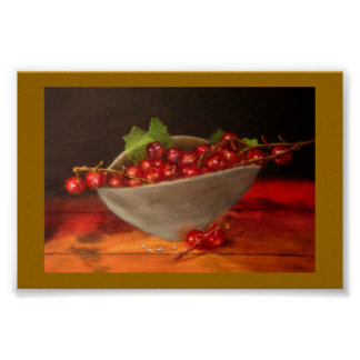Bowl of Currants Poster