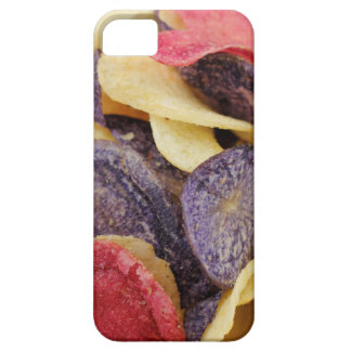 Bowl of Mixed Potato Chips Close-Up iPhone 5 Cover