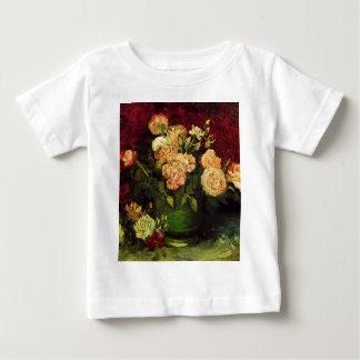 Bowl of Peonies and Rose,Vincent van Gogh Tees