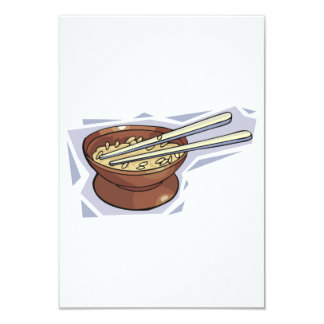 Bowl Of Rice Invitations