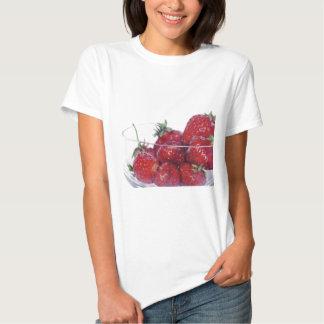 Bowl of Strawberries Tee Shirt