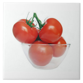 bowl of tomatoes tile