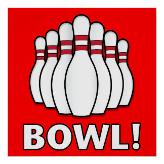 Bowl! Poster