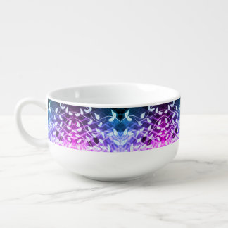 Bowl with Leaf Print