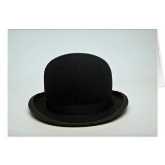 Bowler hat card