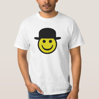 Bowler Hat Smiley T-Shirt