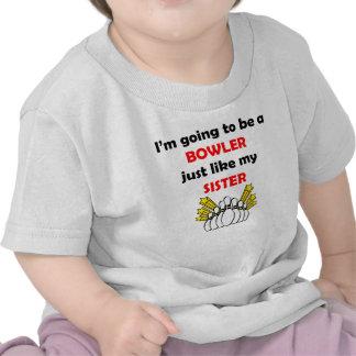 Bowler Like My Sister Tshirt