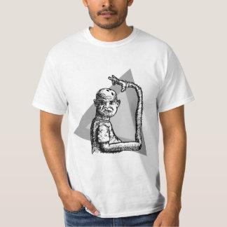 Bowler - triangles tee shirt