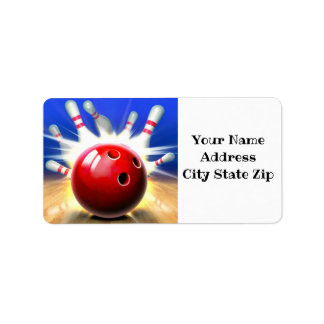 ***BOWLER'S ADDRESS LABELS*** LABEL