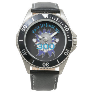 Bowling 300 Bowler Award Watch