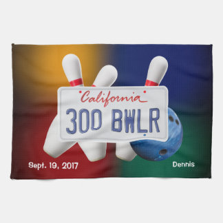 Bowling 300 Game Towel