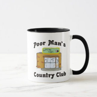 Bowling Alley Poor Man's Country Club Mug