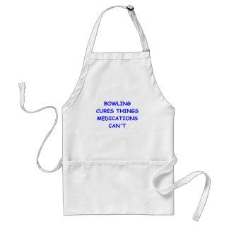 bowling apron