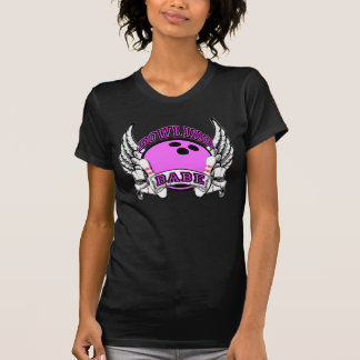 Bowling Babe Tattoo Shirt